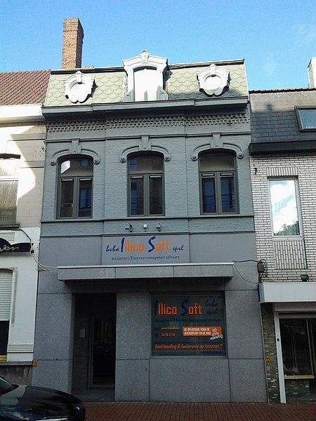 Breedhuis als herberg 1894 Noordstraat 118 Roeselare