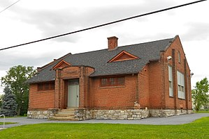 Bressler, Pennsylvania - Image: Bressler PA Old School Dauphin Co