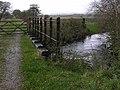 Bridge over the Afon Fflur - geograph.org.uk - 1635268.jpg