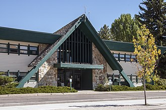 Bridger-Teton National Forest - Bridger-Teton National Forest headquarters in Jackson, Wyoming