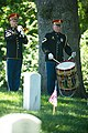 Brig. Gen. Roscoe C. Cartwright honored in a ceremony in Arlington National Cemetery (17392965173).jpg