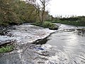 Bringan or Crooksmill Ford, Craufurdland Water, East Ayrshire - Flood conditions.jpg