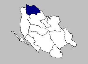 Brinje - the Brinje municipality within Lika-Senj County