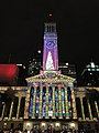 Brisbane City Hall light projection show 2017, 08.jpg