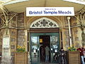Bristol Temple Meads, Main Entrance - DSC05670.JPG