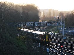 Bristol West Junction - SWT 159002 and 47580.JPG