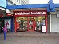 British Heart Foundation - Bramley Shopping Centre - geograph.org.uk - 1779036.jpg