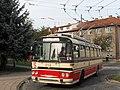 Brno, Královo Pole, smyčka Srbská, Škoda T 11 č. 248 (02).jpg