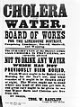 Broadsheet; Cholera and Water, 1866 Wellcome L0025760.jpg