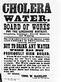Broadsheet; Cholera and Water, 1866 Wellcome L0025760.jpg