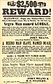 Broadside offering reward of $2,500 for return of three runaway negroes, August 23, 1852.jpg