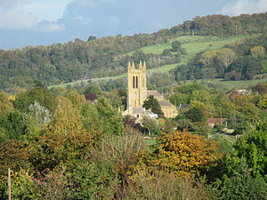 Broadway, Worcestershire - Image: Broadway Church Worcestershire