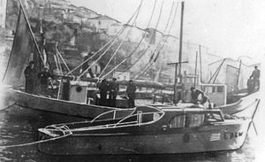 Greek People's Liberation Army - Ships of Greek People's Liberation Navy, WW II