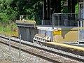 Broken mini-high platform edge at North Billerica station, July 2015.JPG