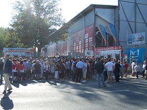 Bruchwegstadion - Image: Brugweck Stadion