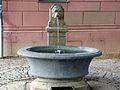 Brunnen am Lesemuseum Goetheplatz Weimar.JPG