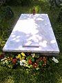 Bucuresti, Romania. Cimitirul Bellu Catolic. Mormantul lui Ludovic Mrazec (16 Mai 2017).jpg