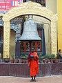 Buddhist Monk, Boudhanath.JPG