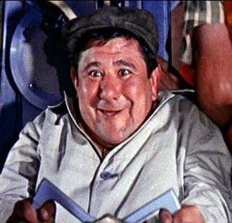 Buddy Hackett - Hackett in It's a Mad, Mad, Mad, Mad World, 1963