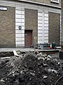 Builders rubble at rear of St James Garlickythe Church - geograph.org.uk - 1172107.jpg