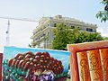 Building with Crane and Street Paintings - Boca Chica - Dominican Republic.jpg