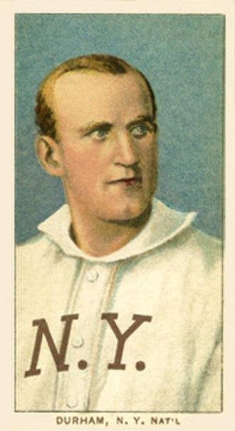 Bull Durham (pitcher) - Image: Bull Durham 1909 1911
