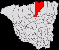 Vị trí của Bumbesti-Jiu