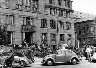 University of Freiburg - The University of Freiburg in 1961