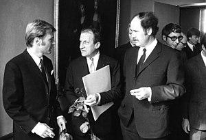Helmut Griem - Helmut Griem (left) in Berlin, 1968.