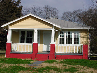 Fulton Hill - Example of Fulton Hill's most characteristic housing form, the bungalow