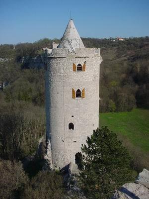 Saaleck Castle - Image: Burg Saaleck 2
