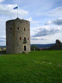 Aussichtsturm auf der Hohenburg