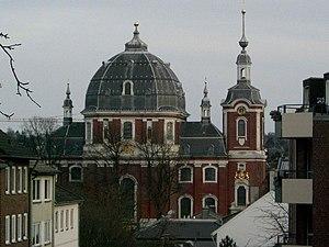 Burtscheid Abbey - Burtscheid abbey church