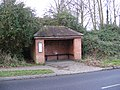 Bus Shelter on B1116 at Fressingfield - geograph.org.uk - 1095846.jpg