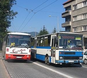 Bus transport in Banska Bystrica