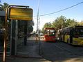 Buss and Bus stop - Khayyam - Nishapur 4.JPG
