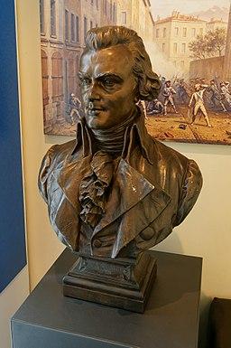 Buste de Jean-Joseph Mounier - Musée de l'ancien évêché, Grenoble