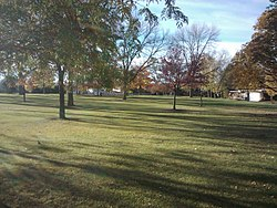 Butterfield Park, Elmhurst, IL - Facing Butterfield Road - panoramio.jpg
