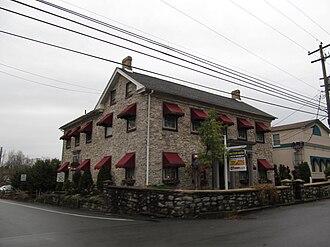 Bethlehem Township, Northampton County, Pennsylvania - Commercial buildings at Butztown