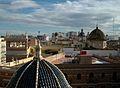 Cúpula de la catedral de València i el palau arquebisbal.JPG