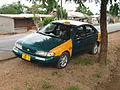 C.1997 Nissan Sentra XE taxi (14339753070).jpg