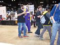 C2E2 (Day 2) 2014, scary clown.jpg