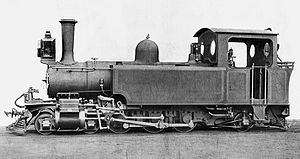 1908 in South Africa - CGR NG 4-6-2T Pacific