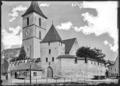 CH-NB - Muttenz, Wehrkirche St. Arbogast, vue partielle - Collection Max van Berchem - EAD-6964.tif