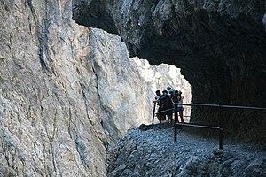Uina Gorge in Engadin, Switzerland