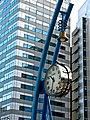 CITIZEN シチズン Public Clock 時計. Created for the Expo World Exhibition, Aichi 2005 (Nagoya) Japan. (14210236698).jpg