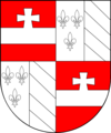 COA bishop AT Neubeck Johann Caspar.png