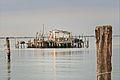 Cabane de pêcheur dans la lagune (Pellestrina) (8182125179).jpg