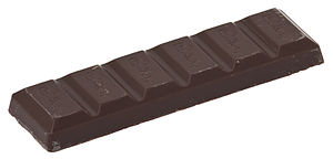 Chocolate bar - A Bournville brand chocolate bar