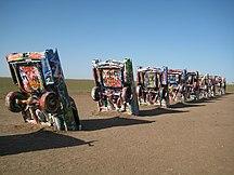 Texas-Arti figurative-Cadillac Ranch